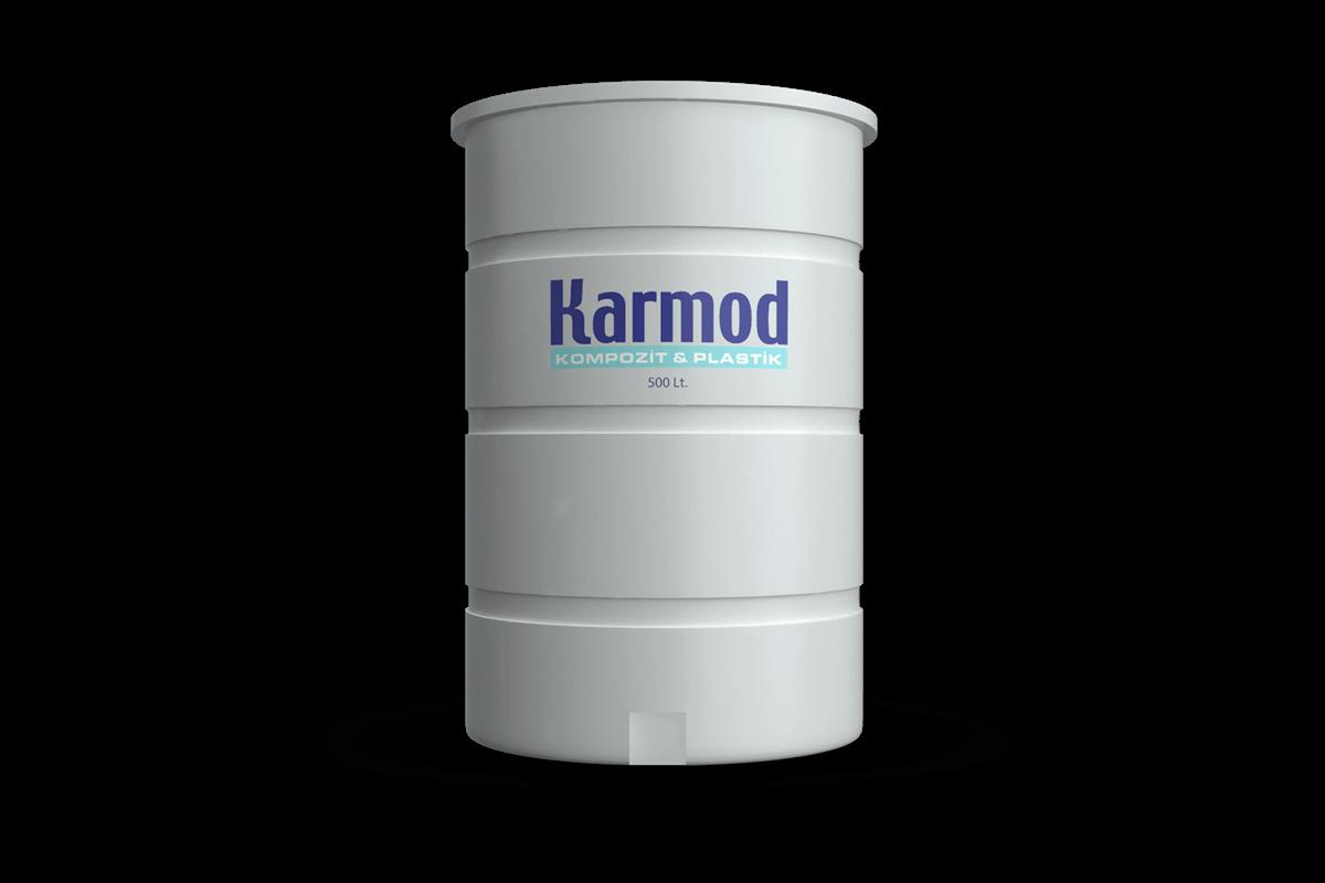 500 liters brine tank (white)