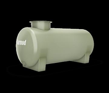 500 L Horizontal FRP Tank