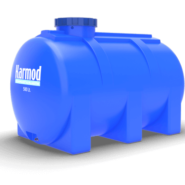 500 liters horizontal tank