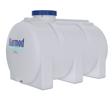 500 liters horizontal water tank