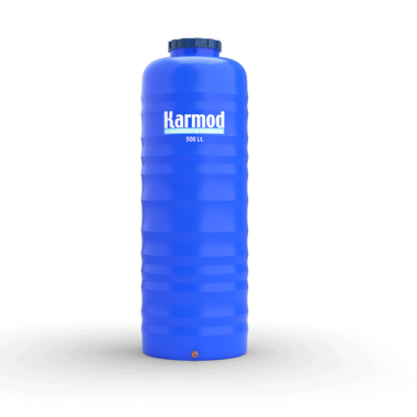 500 liters pipe type vertical plastic tank