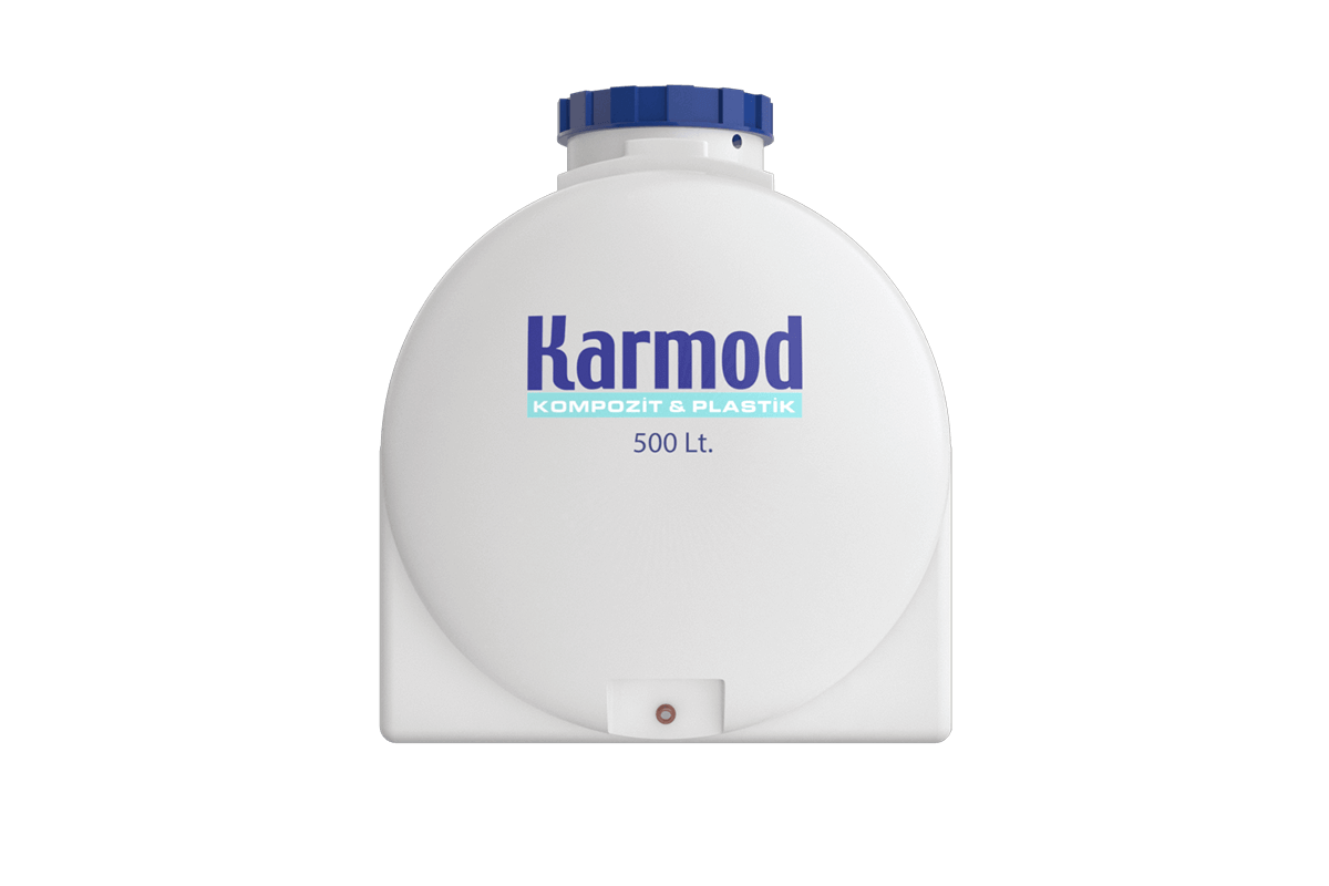 500 liters polyethylene water tank