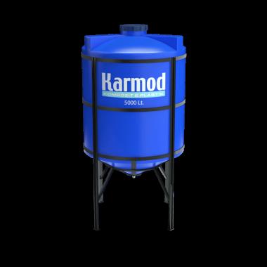 5000 liters cone bottom tank price (blue)
