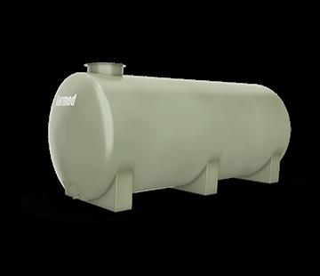 5.000 L Horizontal FRP Tank