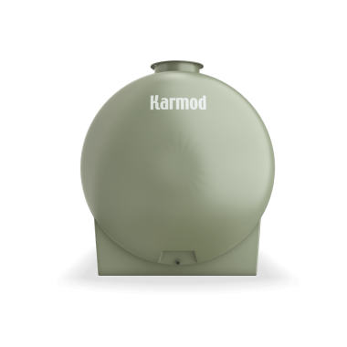 5000 liters horizontal frp tank