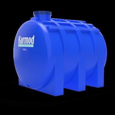 5000 liters horizontal tank