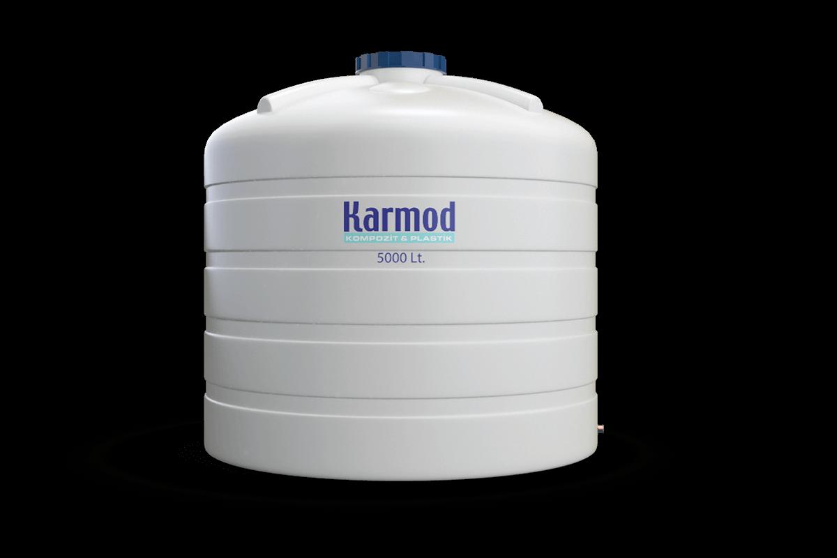 5000 liters water tank