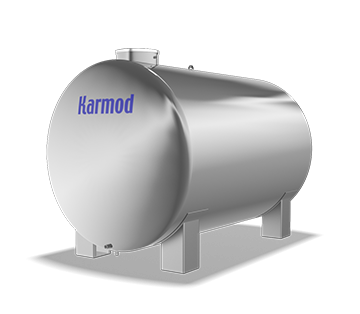 6000 L Stainless Water Tank