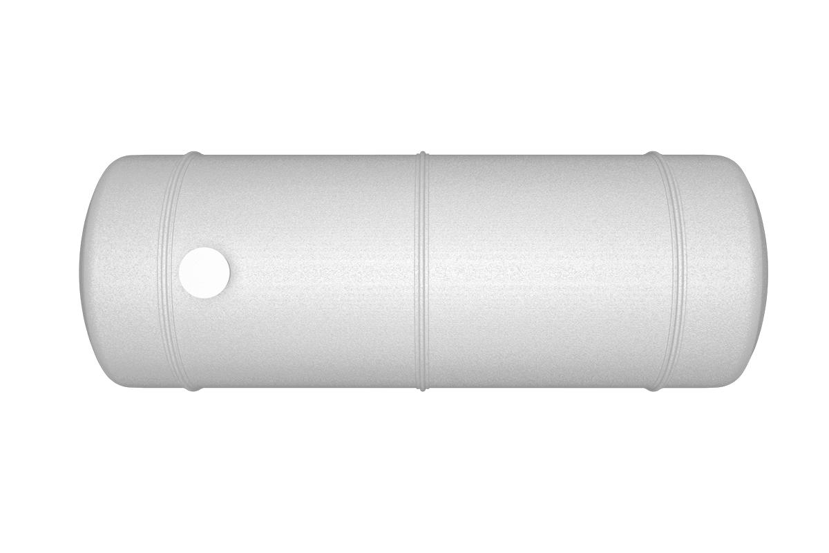 60000 liters horizontal frp tank