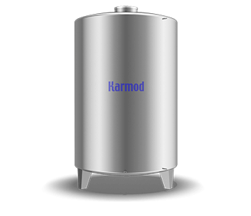 7000 L Stainless Storage Tank