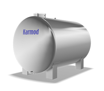 7000 L Stainless Water Tank