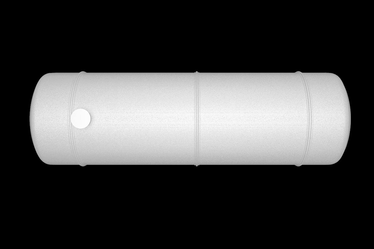 70000 liters horizontal frp tank