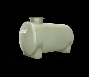 750 L Horizontal FRP Tank