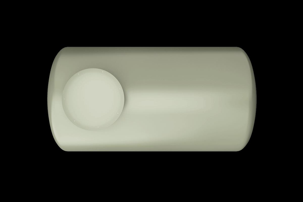 750 liters horizontal frp tank