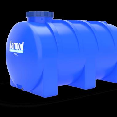 750 liters horizontal tank
