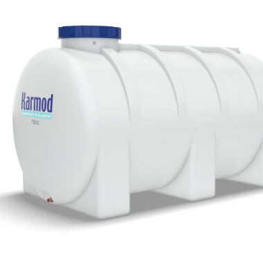 750 liters horizontal water tank