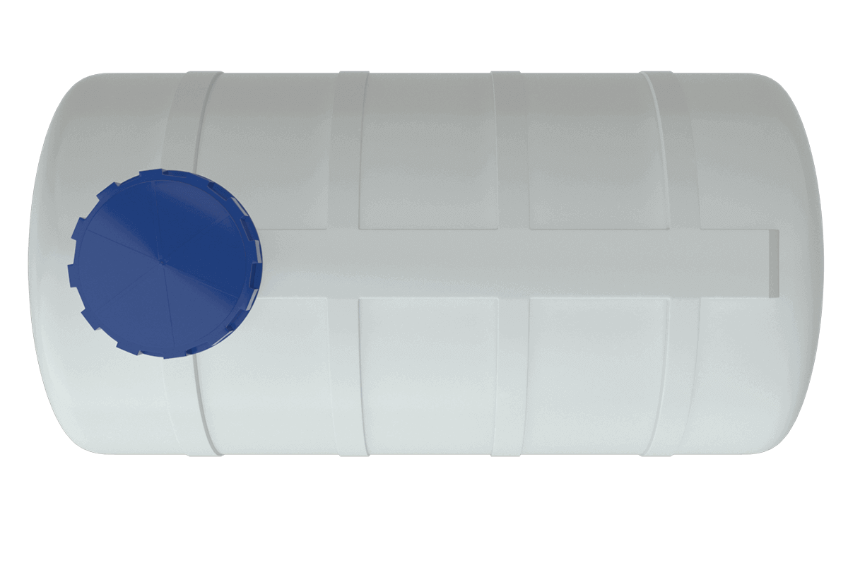 750 liters plastic water tank