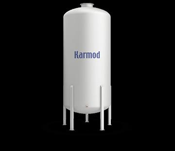 8000 L FRP Storage Tanks