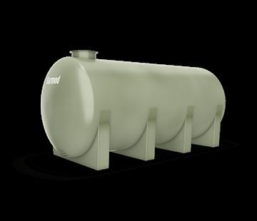 8.000 L Horizontal FRP Tank