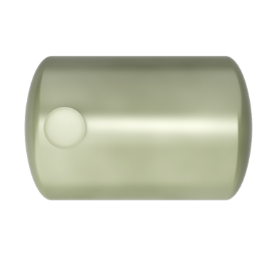 8000 liters horizontal frp tank