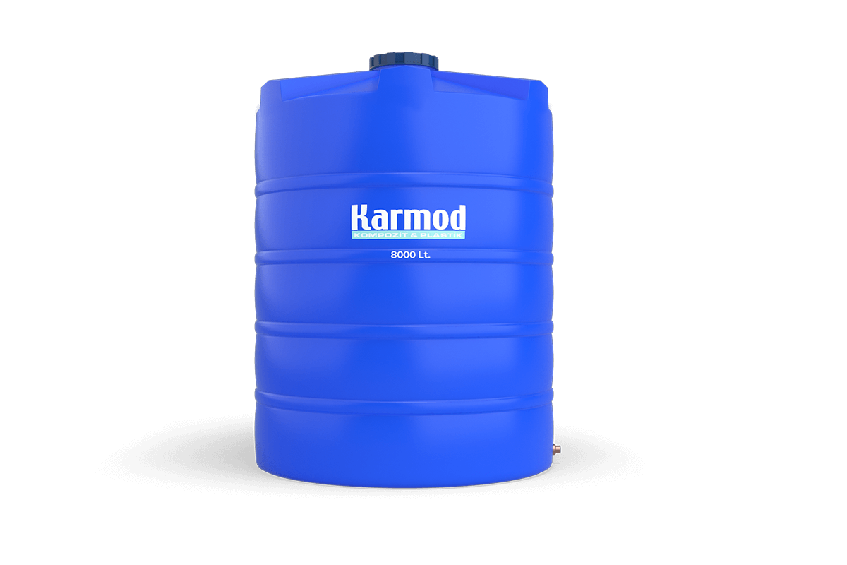 8000 liters vertical plastic tank