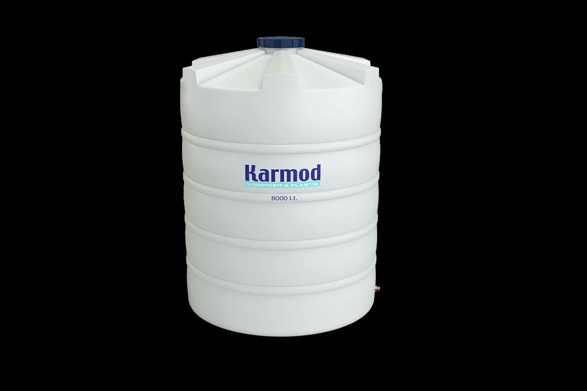 8000 liters water tank price