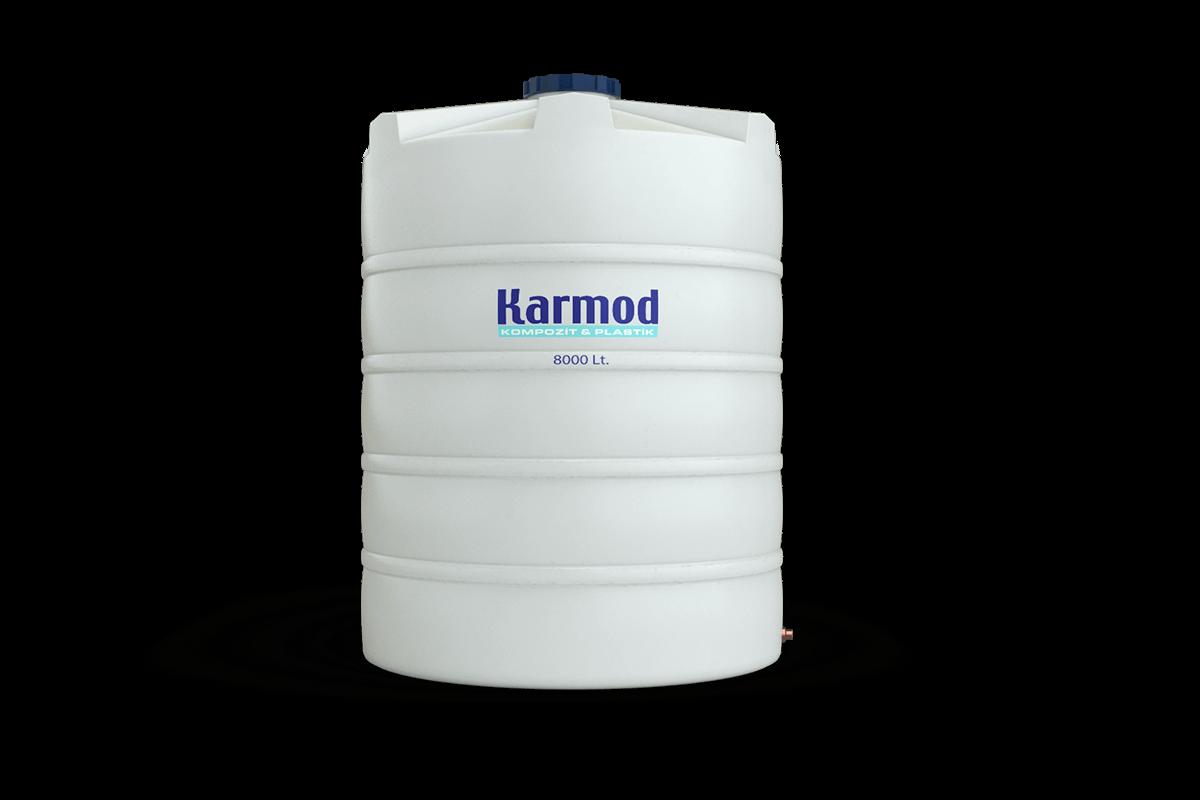 8000 liters water tank