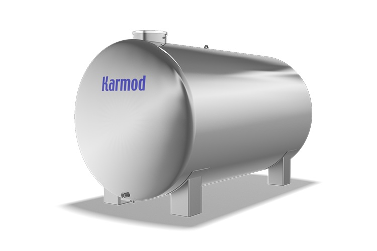 8000 L Stainless Water Tank