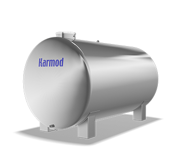 9000 L Stainless Water Tank