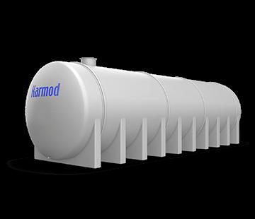 80.000 L Horizontal FRP Tank