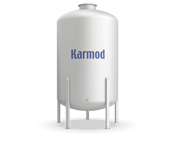 9000 L FRP Storage Tanks