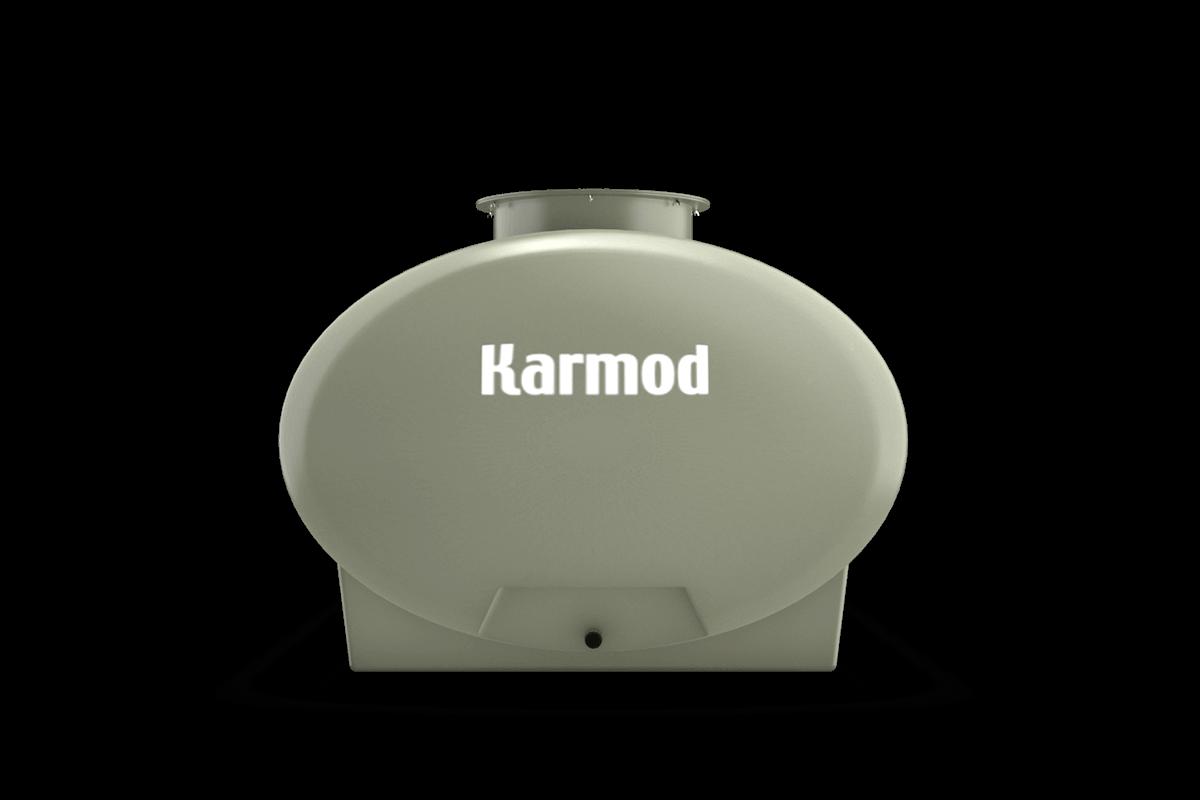Ellipse fiberglass tank 1000 liters