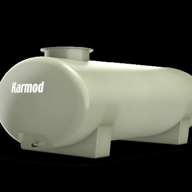 Ellipse fiberglass water tank 1000 liters