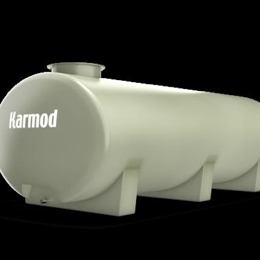Ellipse fiberglass water tank 2000 liters