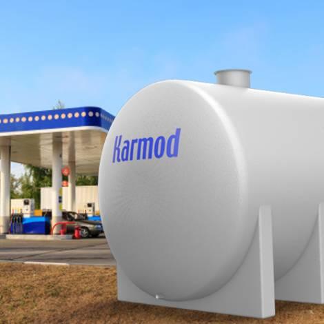 Fiberglass fuel storage tanks