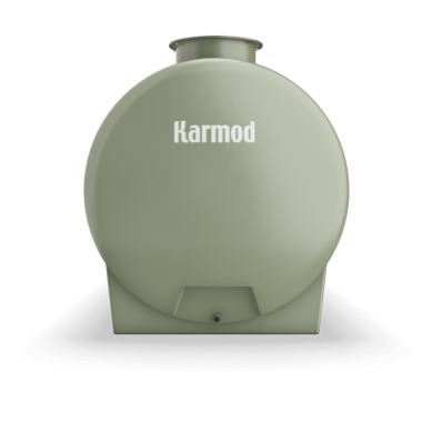 Fiberglass tank 2000 liters