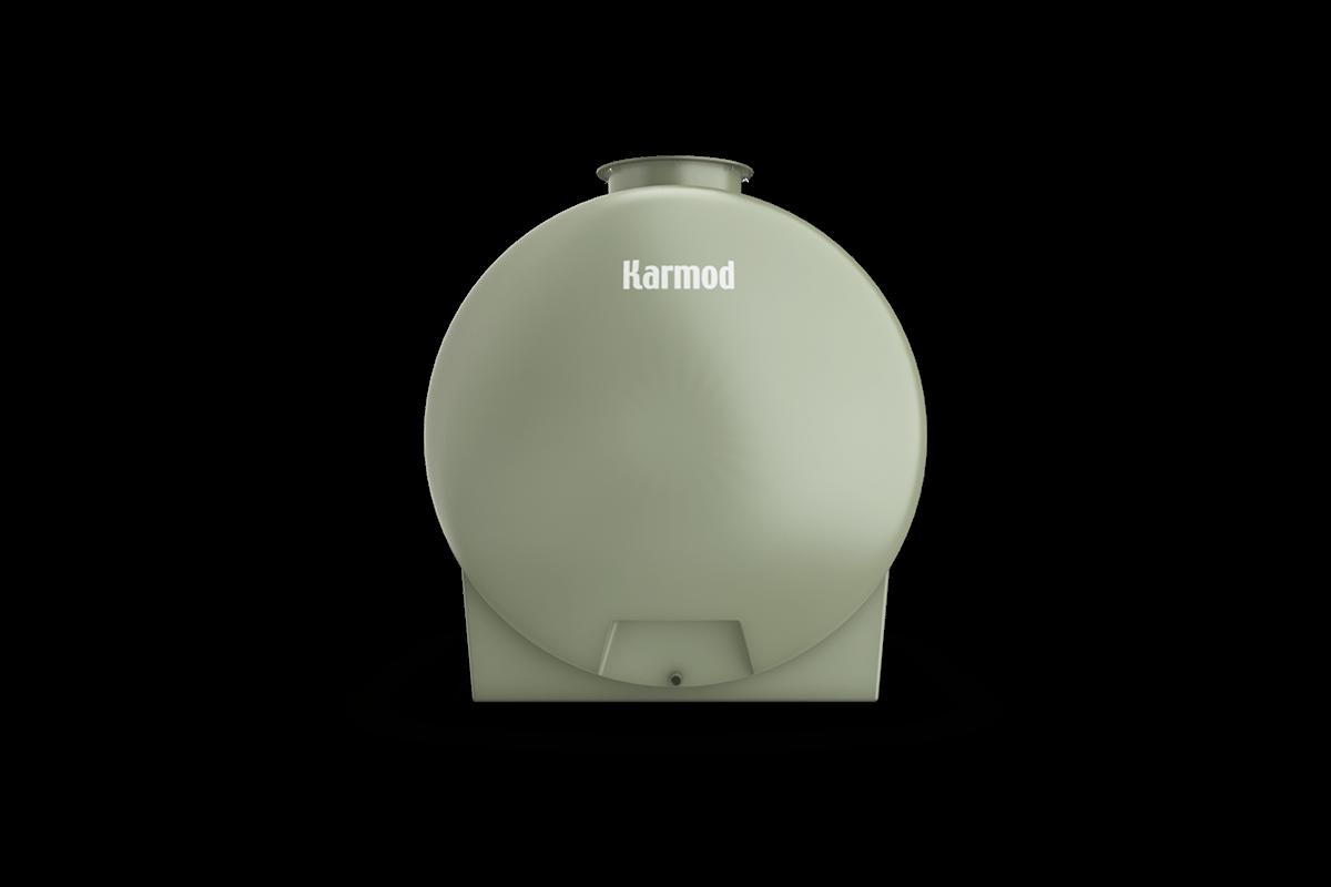 Fiberglass tank 2500 liters