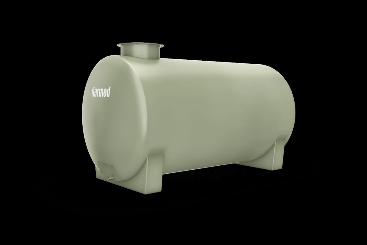 Fiberglass water tank 1500 liters