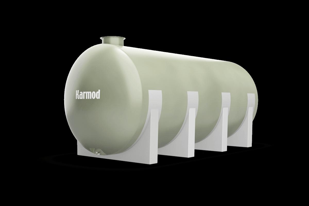 Fiberglass water tank 15000 liters
