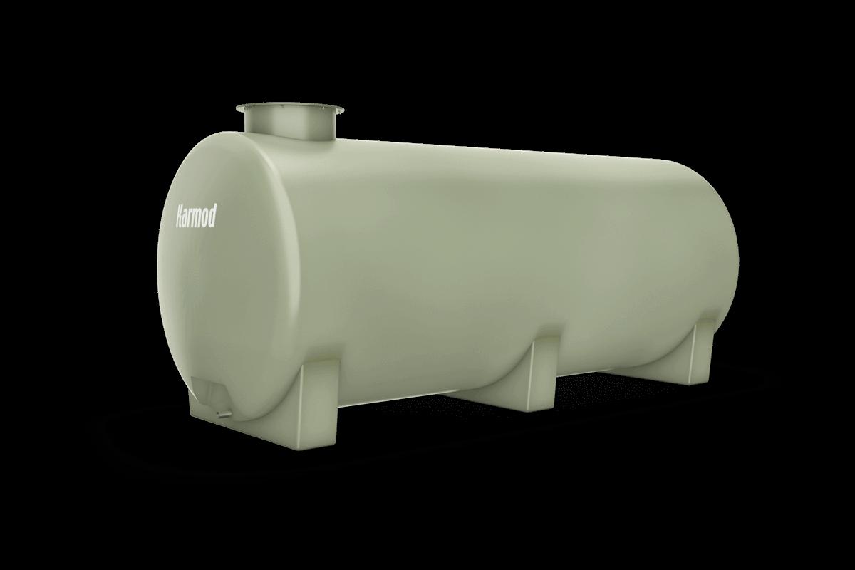 Fiberglass water tank 2000 liters