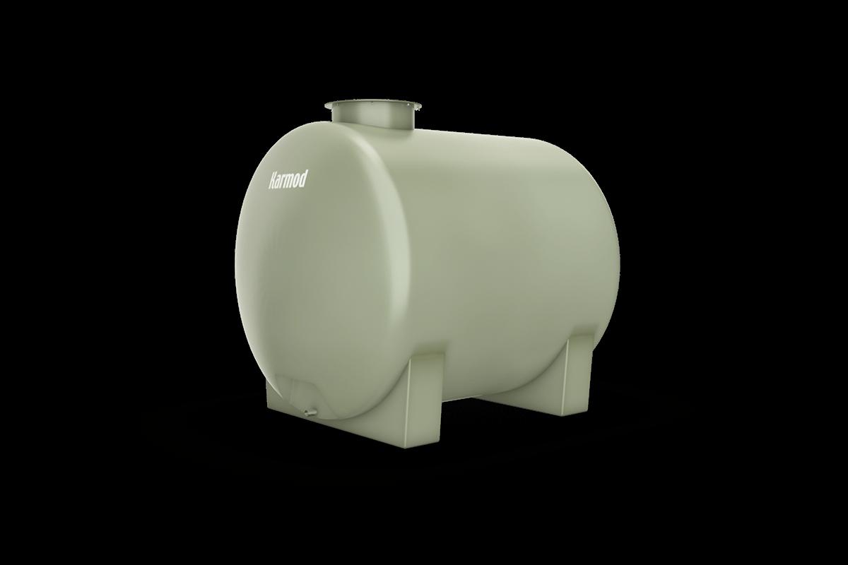 Fiberglass water tank 2500 liters