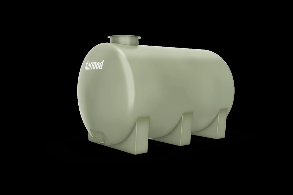 Fiberglass water tank 3500 liters