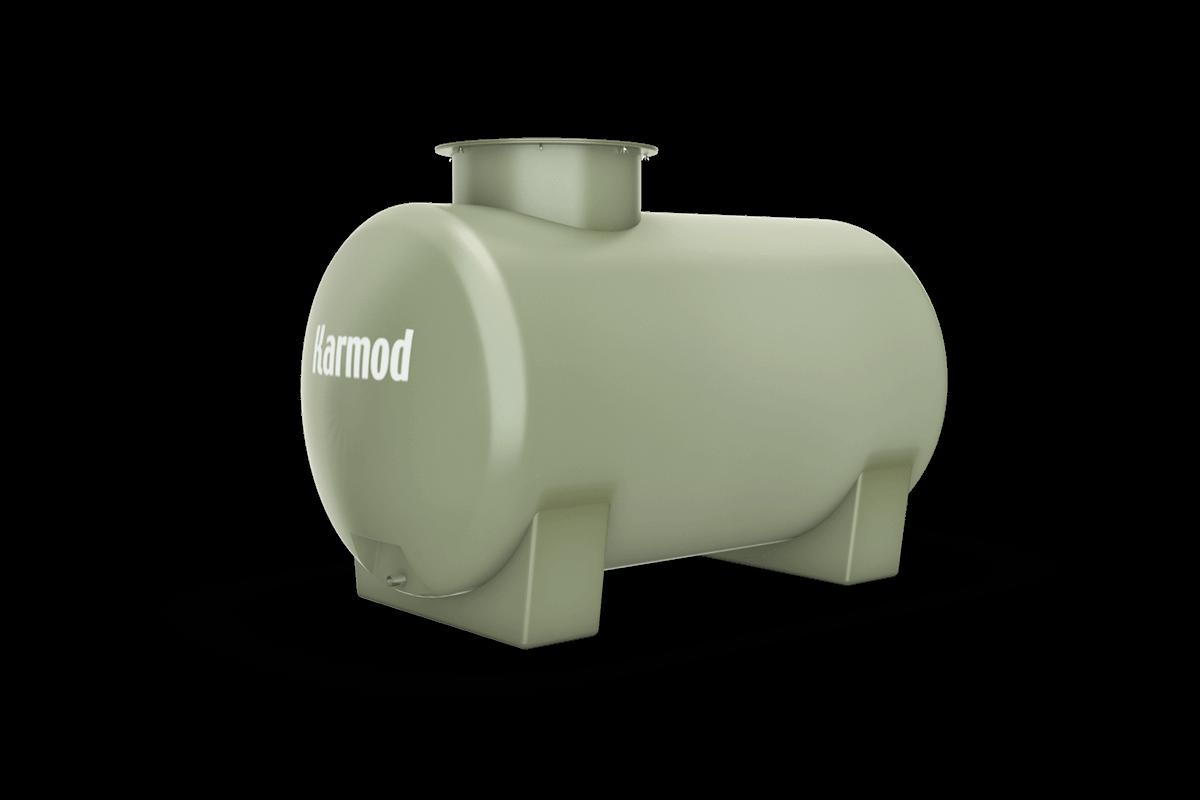 Fiberglass water tank 400 liters