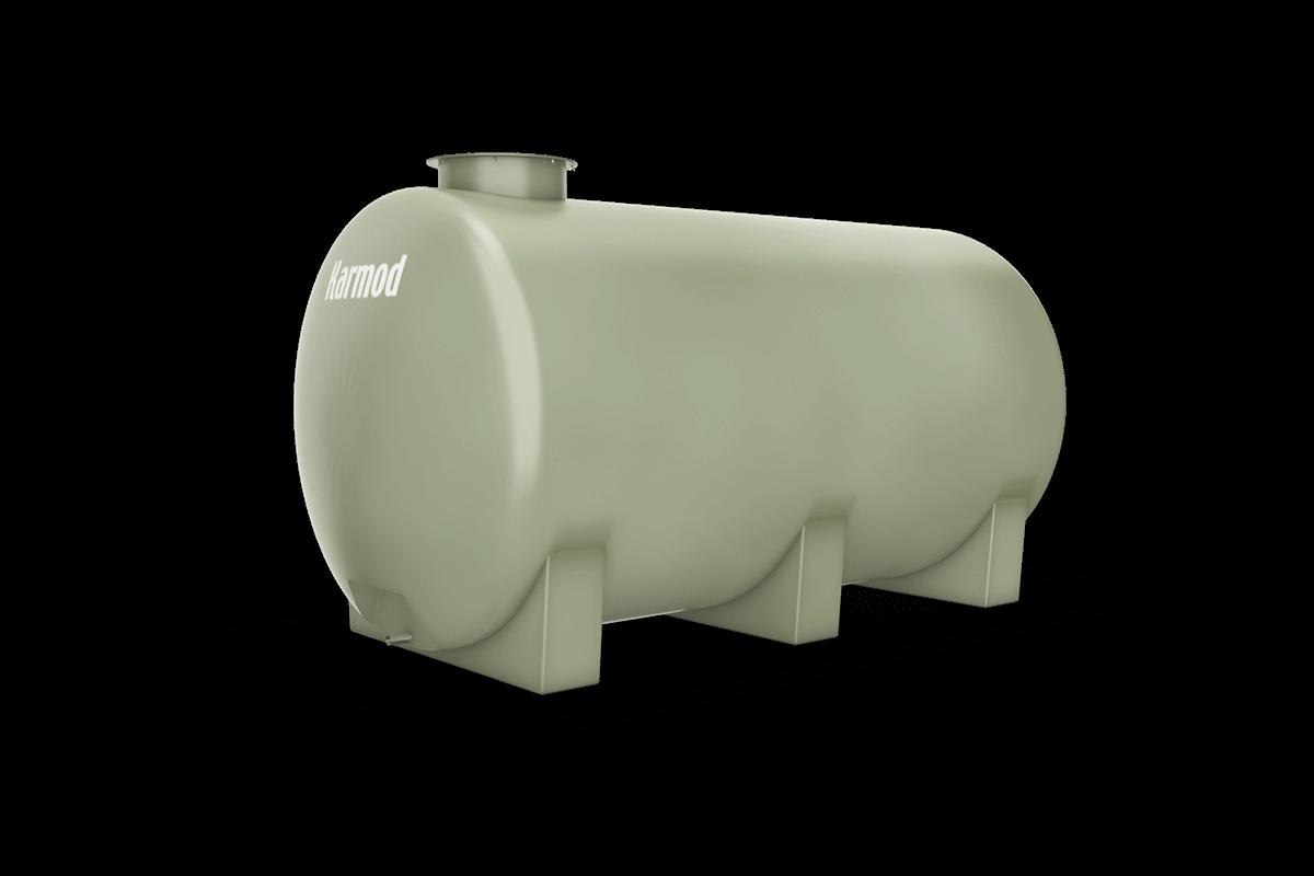 Fiberglass water tank 4000 liters