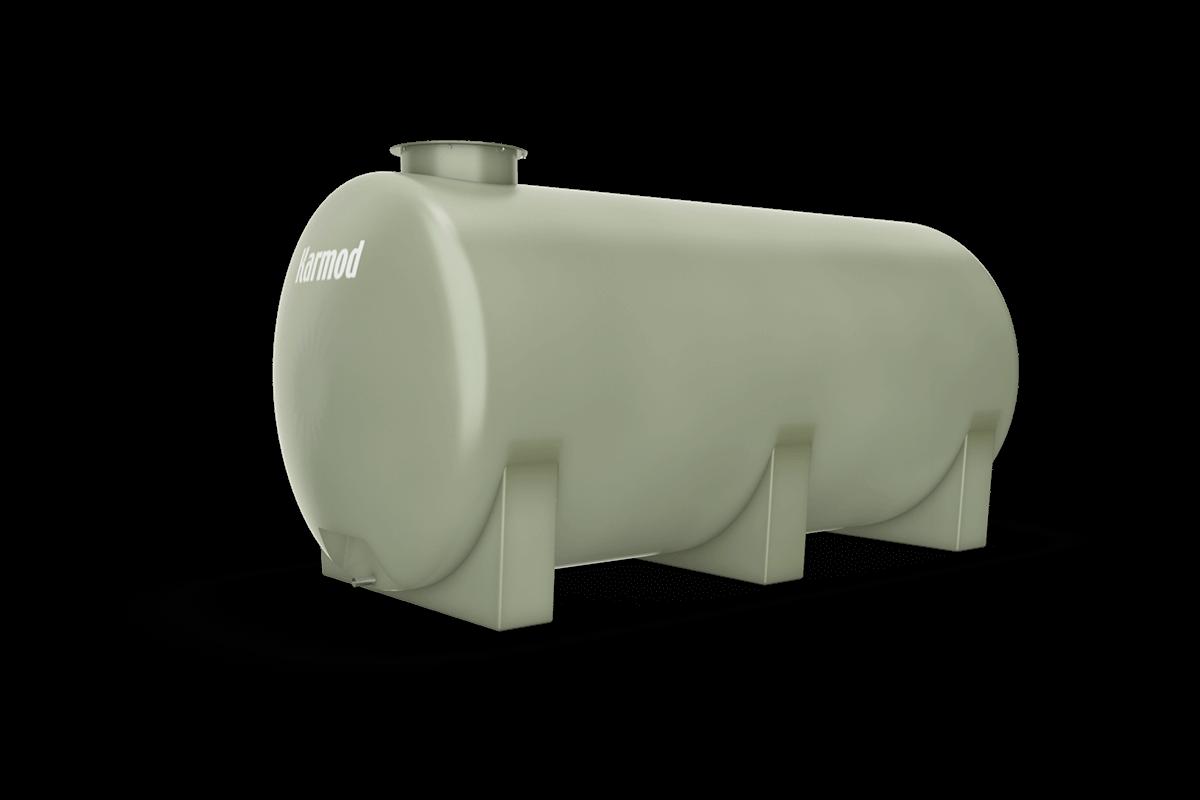 Fiberglass water tank 4500 liters