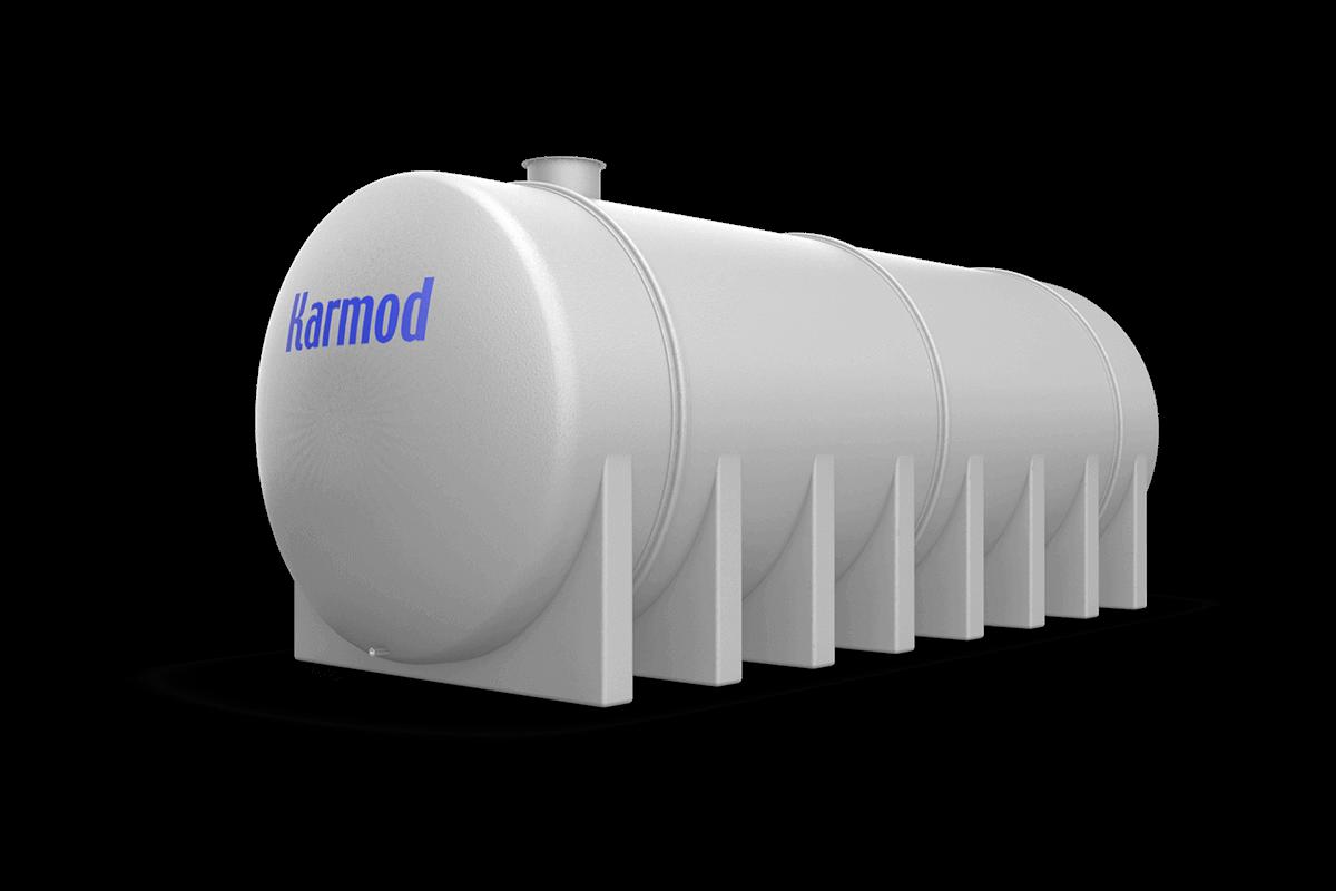 Fiberglass water tank 60000 liters