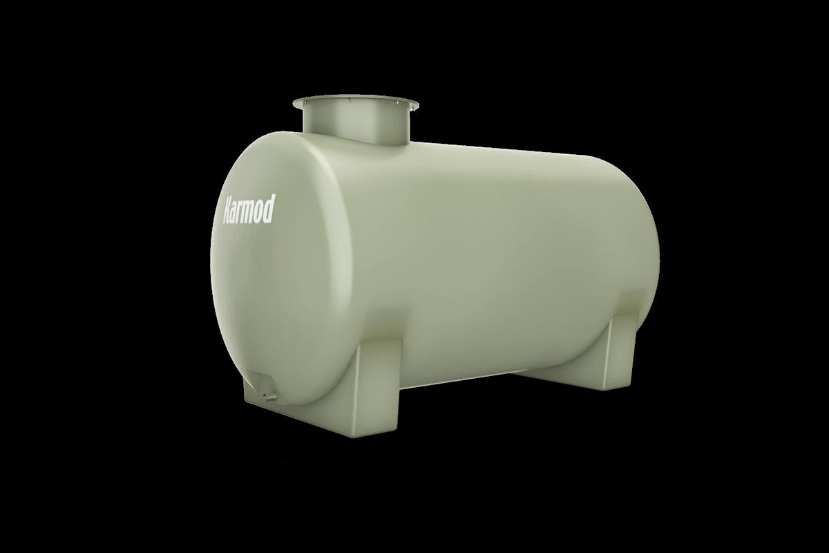 Fiberglass water tank 750 liters
