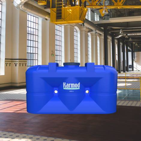 New generation polyethylene slim water tank