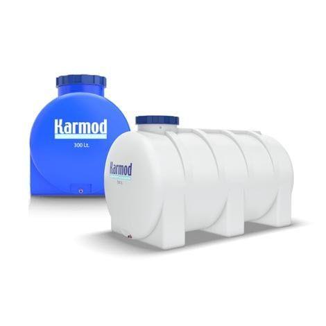 Plastic horizontal water tank