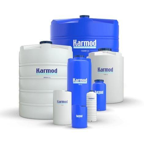 Plastic vertical water tanks